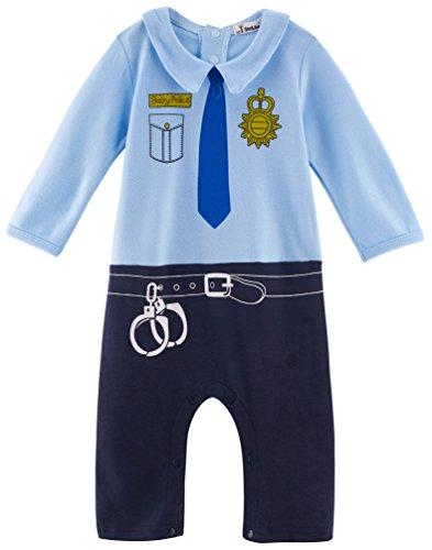 Arloesi Baby Boys' Police Costume -