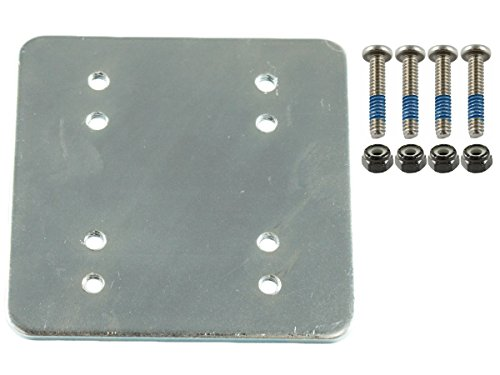 RAM Mounts (RAM-202-225BU) 3 X 3 Backer Plate W/ Amps and 2 X 2.5 with (Mounting Plate Ram)