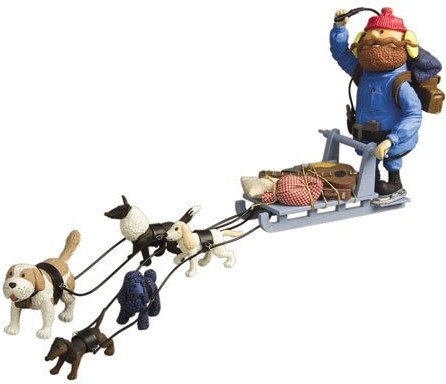 Sled Dog Team (Rudolph and the Island of Misfit Toys Yukons Sled and Dog Team by Memory Lane)