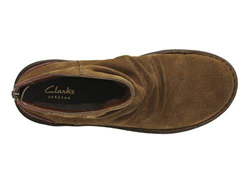 Clarks  Avington Swan,  Stivali donna Marrone marrone