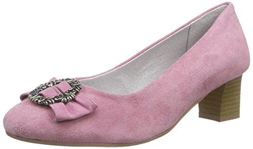 Pumps Pink Damen Rose Rosi Bergheimer Trachtenschuhe qHUa11