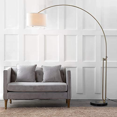 Safavieh LIT4349A Lighting Collection Polaris Arc Floor Lamp