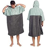 Vivida Lifestyle - Essential Kapuzen Poncho Handtuch mit Quickdry Fabric für den Strand, zum Surfen, Schwimmen & Triathlon