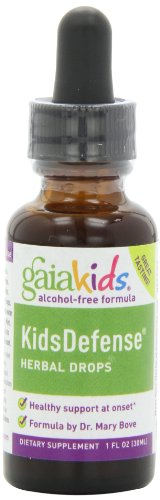 Gaia Kids KidsDefense Herbal Drops, 1-Ounce Bottle