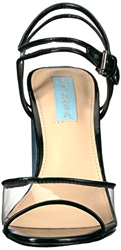 Betsey Johnson Blue by Women's Sb-Elana Dress Sandal Black 12DG4TU2b