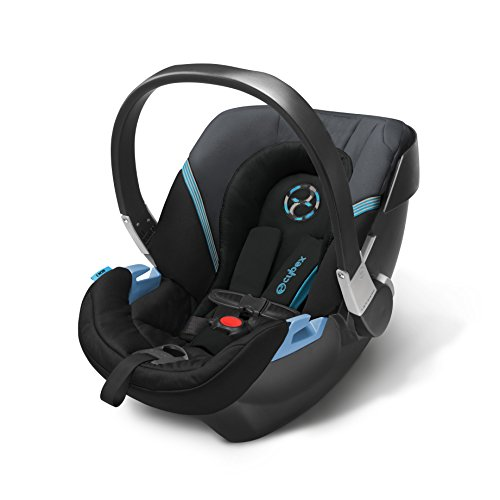 CYBEX Aton 2 Infant Car Seat, Black Sea