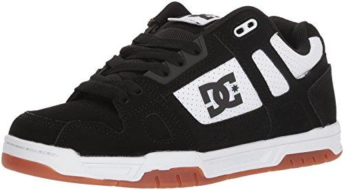 DC Men Stag Sneaker White/Black/Print
