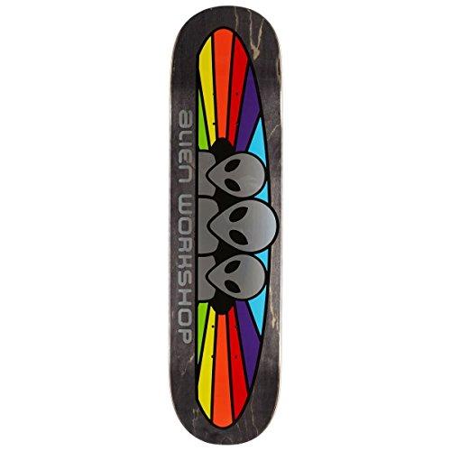 背景病気だと思う半円Alien Workshop スペクトラムホイルスケートボードデッキ - 8.00インチ
