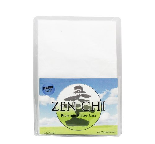 "Buckwheat Pillow Case - Zen Chi 100% 400 Thread Count Premium Pillow Case - Fits All Personal / Japanese Sized Pillows (14"" X 20"")"