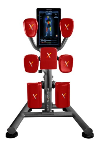 Nexersys Commercial Fitness Equipment for Boxing, Grey/Red