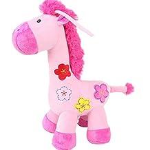 NUOLUX Infant Baby Bed Crib Cot Pram Hanging Giraffe Toye for Pushchair Car Seat(Pink)