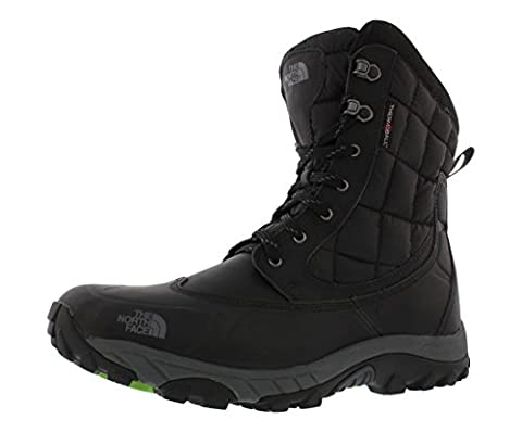 The North Face Thermoball Men's Snow Boots Waterproof Black Size 9