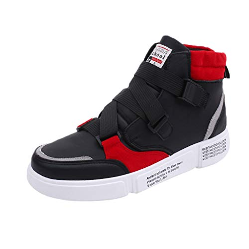 JJLIKER Mens Basketball Shoes High-Top Sneakers Outdoor Trainers Durable Sport Shoes Stylish Athletic-Inspired Shoes