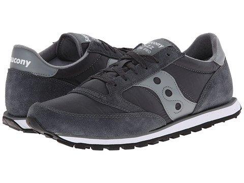 (サッカニー) SAUCONY メンズスニーカーカジュアルシューズ靴 Jazz Low Pro [並行輸入品] B06XXSHKY9 25.5 cm D - M Charcoal/Grey