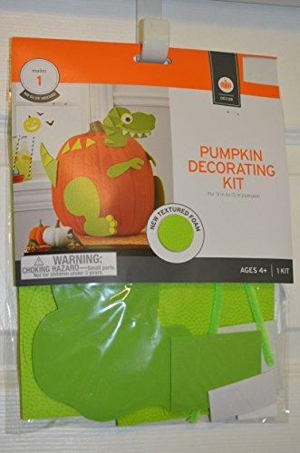 Amazon Com Dinosaur Halloween Pumpkin Decorating Kit Nip By