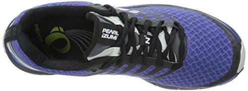 Pearl Izumi Womens Em Trail N1 V2 Trail Hardloopschoen Diep Blauwe Regen / Zwart