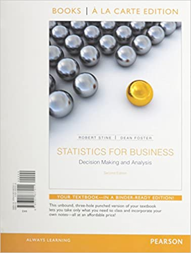 Amazon statistics for business decision making and analysis statistics for business decision making and analysis student value edition plus new mylab statistics with pearson etext access card package 2nd fandeluxe Images