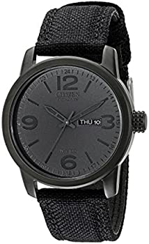 Citizen BM8475-00F Canvas Strap Eco-Drive Mens Watch