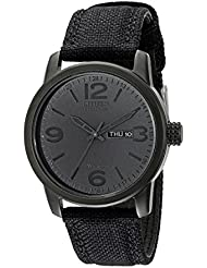 Citizen Mens Eco-Drive Stainless Steel Watch with Day/Date, BM8475-00F