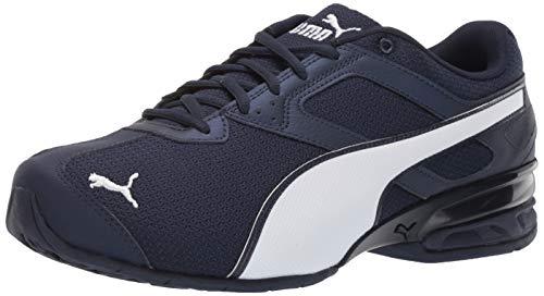 PUMA Men's Tazon 6 Sneaker Peacoat White, 10 W US