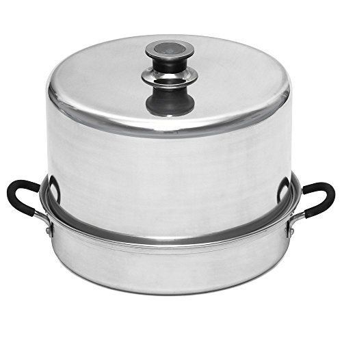 Aluminum Steam Canner with Temperature Indicator by VICTORIO VKP1054 (Renewed)