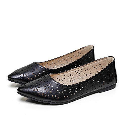 Zapatos Maternidad señaló Huecas UE Planas Inferiores de los señoras EU Suaves 41 de de 37 Las Las FLYRCX El Verano cómodas Sandalias 84wXZT