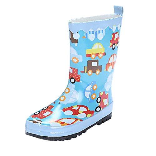 Wasser Jungen Kinder Mädchen Schneestiefel Winter Gummistiefel Regenstiefel Mode Regen Meijunter Stiefel Schuhe Stiefeletten Kinder Rutschfest Blau Stiefel YwgqRvFf