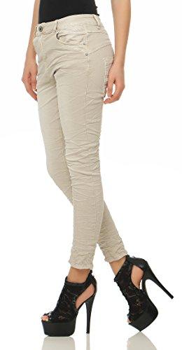 Pantaloni Jeans 2760 Donna Ragazzo Cl Lexxury Chino Larghi Beige Da YW5wnw6q8