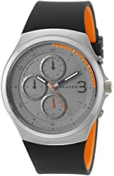 Skagen Men's SKW6158 Jannik Analog Display Analog Quartz Black Watch