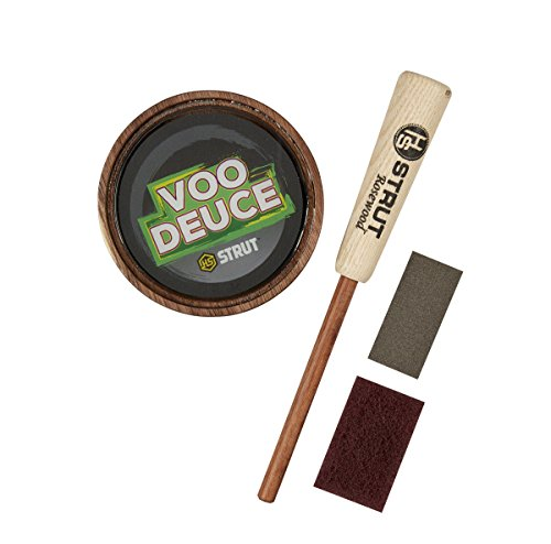 (Hunters Specialties H.S. Strut VooDeuce Glass Pan Turkey Call)