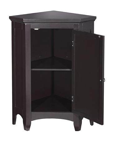 Elegant Home Fashions Slone Corner 1-Shutter Door Floor Cabinet by Elegant Home Fashions (Image #2)