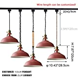 STGLIGHTING Dimmable Iron Pendant Light H-Type