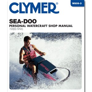 CLYMER SEA-DOO PERSONAL WATERCRAFT 1988-1996 ''Prod. Type: Boat Outfitting'' by OEM