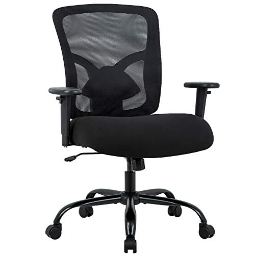 Big and Tall Office Chair 400lbs Cheap Desk Chair Mesh