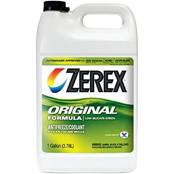 zerex original green antifreeze coolant concentrated 1gal zx001 automotive. Black Bedroom Furniture Sets. Home Design Ideas