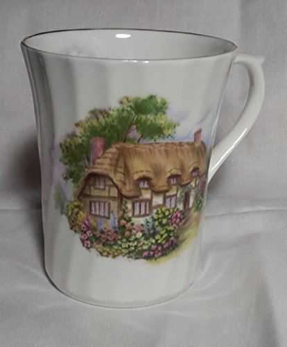 Cottage Staffordshire (Crown Victorian Fine Bone China - Staffordshire England -