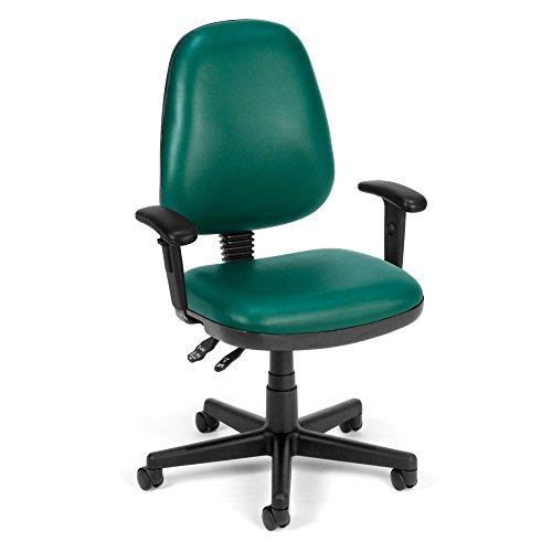 OFM Inc Anti-Microbial/Anti-Bacterial Vinyl Posture Task Chair with Arms ()