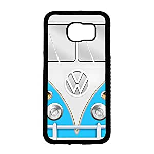 Volkswagen Camper Van Unique Design Cover Shell Fashionable Blue Stuff 4 VW Camper Van Phone Case Cover for Samsung Galaxy S6