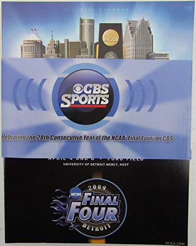 2009 Ncaa Final Four - 2009 NCAA FINAL FOUR Championship Program UNC TARHEELS Champs vs. MSU 142980
