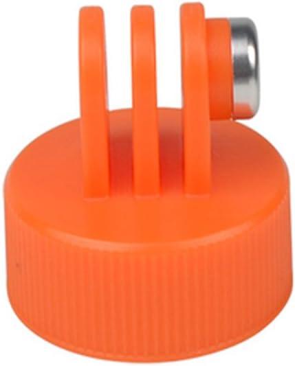 CLOVER Surfing Sports Bottle Adapter Mount Float Rod for Hero 3 4 5 Session Camera Orange