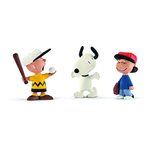 Schleich North America Baseball Scenery Pack Toy Figure Baseball Player Figurine