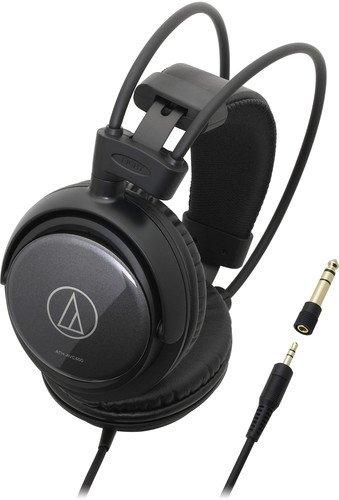Audio-Technica ATH-AVC400 SonicPro Over-Ear Headphones - Headphones 53mm Driver