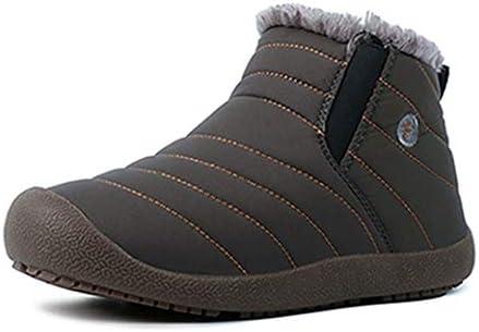 レディース スノーブーツ 冬 メンズ 暖かい 大きいサイズ 歩きやすい 厚底 冬ブーツ あったか 防寒 男女兼用 保温 ムートンブーツ 母 父 ギフト 裏ボア ブラック 痛くない ローヒール 防水 滑り止め スノーシューズ