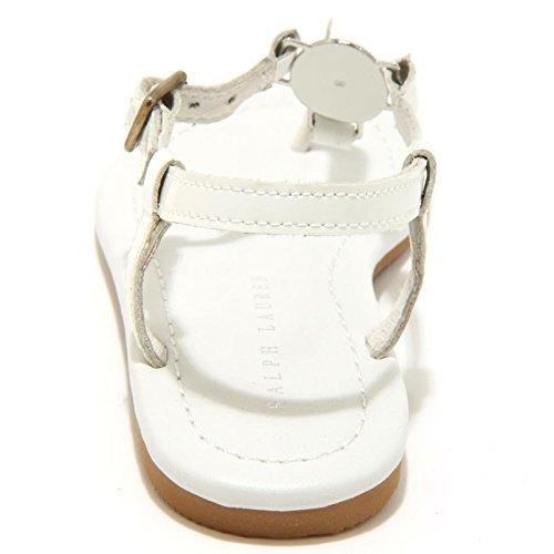Bimba Lauren White Sandalo Shoes Susanne Ralph 8845F Ciabatta Infradito Bianco Scarpa 84dnSq