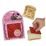 Valentine's Day-I Love You Toast Stamper