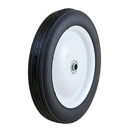 Marathon 10x1.75'' Semi-Pneumatic Tire on Wheel by Marathon Industries