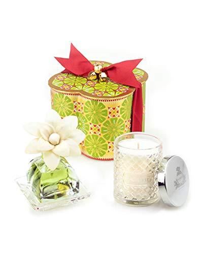 AGRARIA Lime & Orange Petite Essence & Candle Set