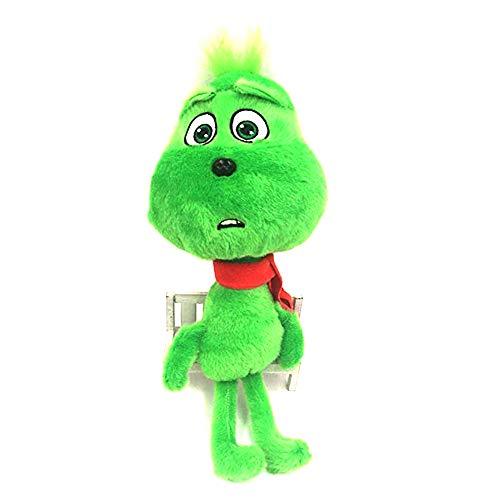 Dr Seuss Halloween The Green Monster Grinch Doll Cosplay Plush Stuffed Animals -