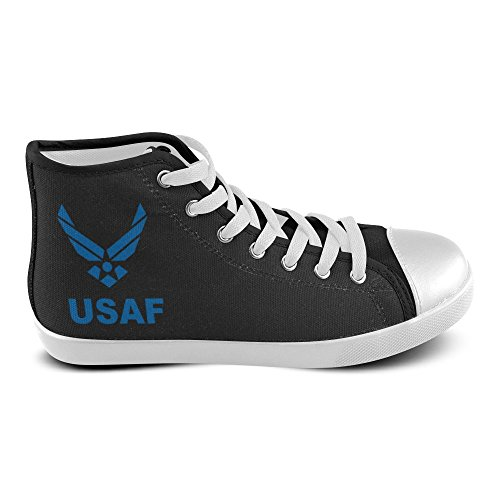 D-Story Custom USAF Air Force High Top Mens Canvas Shoes Sneaker P7Q9fBRR