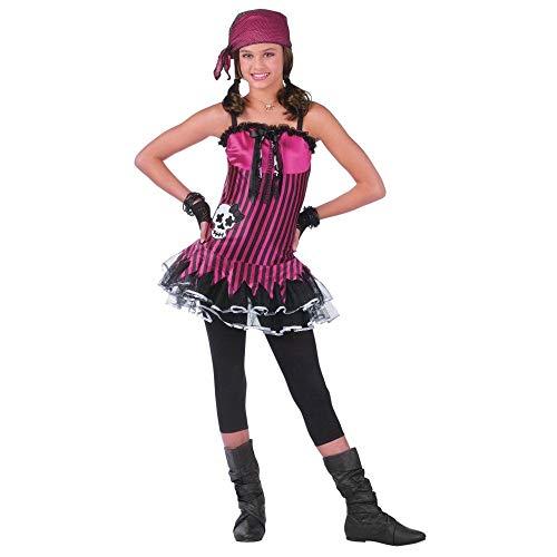 Rockin' Skull Pirate Teen/Junior Costume - ()